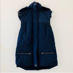Jackets & Blazers - Dark Blue Vest